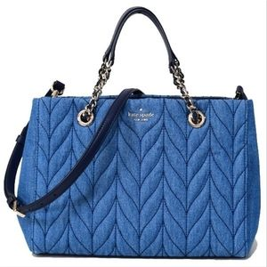 NWT*♠️ Kate Spade ♠️ Briar Lane Quilted Denim